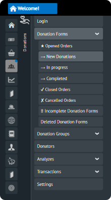 Follow up with donation transactions on mobile